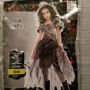 PROM CORPSE QUEEN costume child size M (8-10)